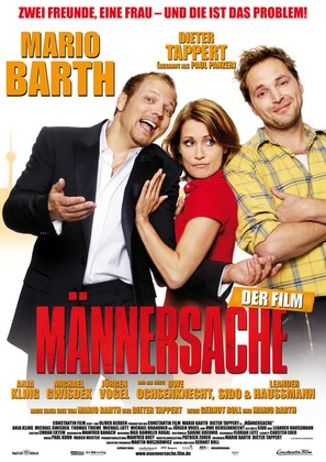 Männersache - German Movie Poster (thumbnail)