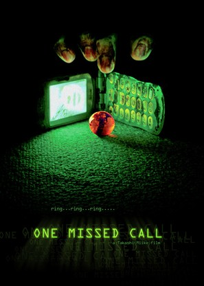 One Missed Call - Movie Poster (thumbnail)