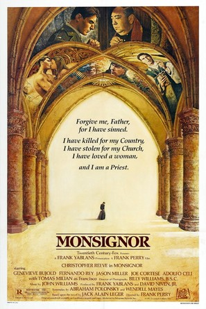 Monsignor - Movie Poster (thumbnail)