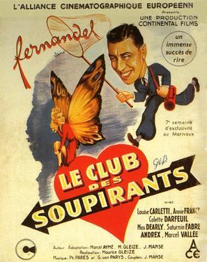 Club des soupirants, Le - French Movie Poster (thumbnail)