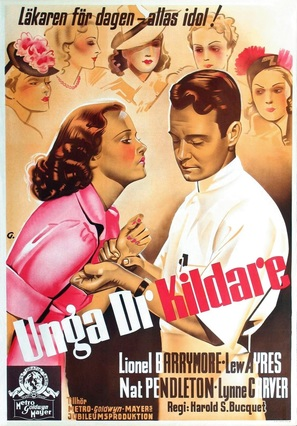 Young Dr. Kildare - Swedish Movie Poster (thumbnail)