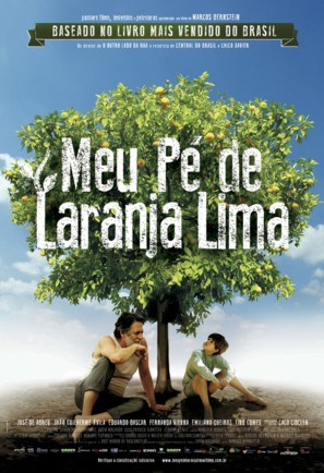 Meu pé de laranja Lima - Brazilian Movie Poster (thumbnail)