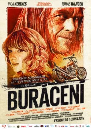 Burácení - Czech Movie Poster (thumbnail)