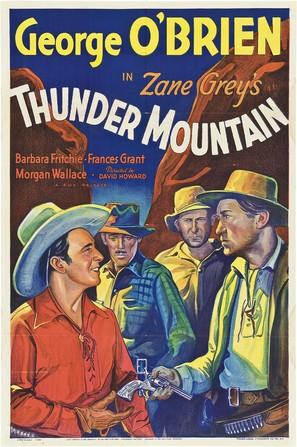 Thunder Mountain - Movie Poster (thumbnail)