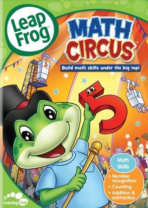 LeapFrog: Math Circus - DVD cover (thumbnail)
