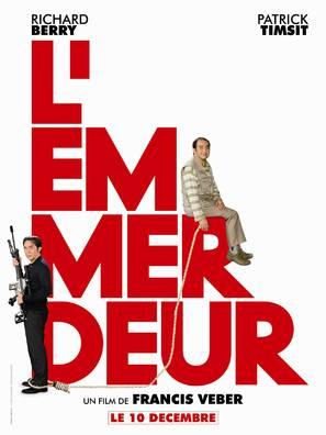 L'emmerdeur - French Movie Poster (thumbnail)
