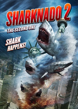 Sharknado 2: The Second One - DVD movie cover (thumbnail)