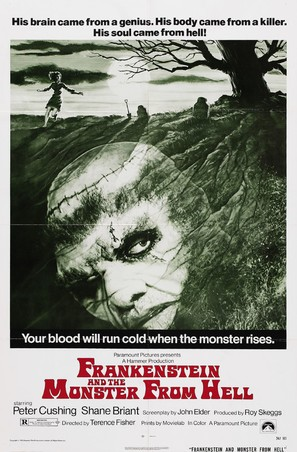 Frankenstein and the Monster from Hell - Movie Poster (thumbnail)