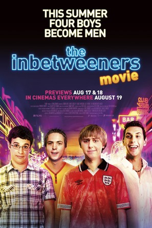 The Inbetweeners Movie - British Movie Poster (thumbnail)