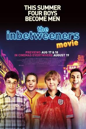 The Inbetweeners Movie - British Movie Poster (thumbnail)