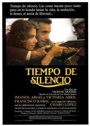 Tiempo de silencio - Spanish Movie Poster (thumbnail)