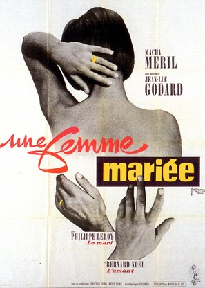 Une femme mariée: Suite de fragments d'un film tourné en 1964 - French Movie Poster (thumbnail)