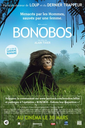 Bonobos - French Movie Poster (thumbnail)