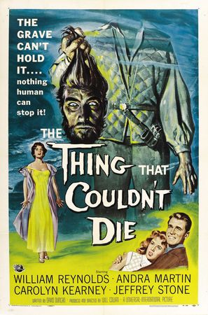 The Thing That Couldn't Die - Movie Poster (thumbnail)