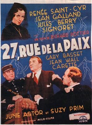 27 rue de la Paix