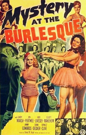 Mystery at the Burlesque - Movie Poster (thumbnail)