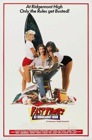 Fast Times At Ridgemont High - Movie Poster (thumbnail)