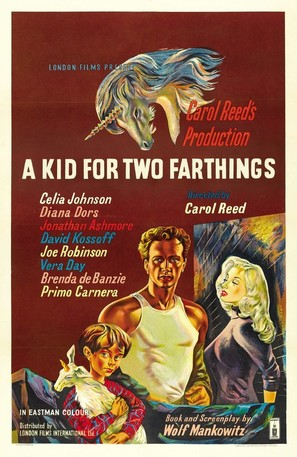 A Kid for Two Farthings - British Movie Poster (thumbnail)