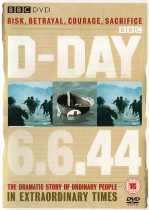 D-Day 6.6.1944 - British Movie Cover (thumbnail)