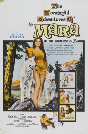 Mara of the Wilderness - Movie Poster (thumbnail)
