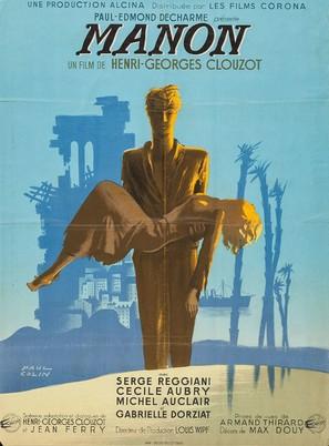 Manon - French Movie Poster (thumbnail)