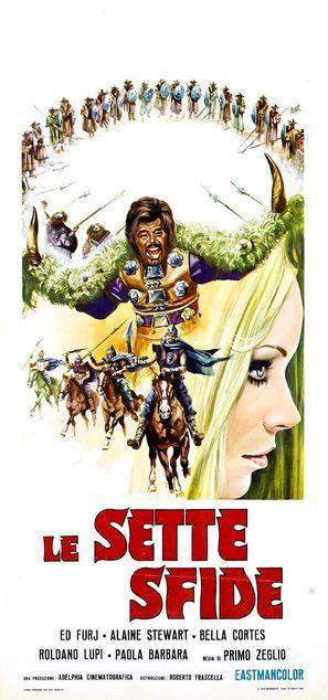 Le sette sfide - Italian Movie Poster (thumbnail)