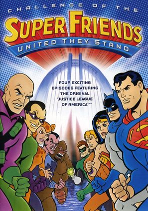 """""""Challenge of the SuperFriends"""" - DVD movie cover (thumbnail)"""