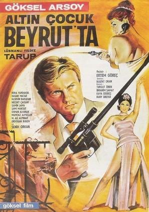 Altin Çocuk Beyrut'ta - Turkish Movie Poster (thumbnail)