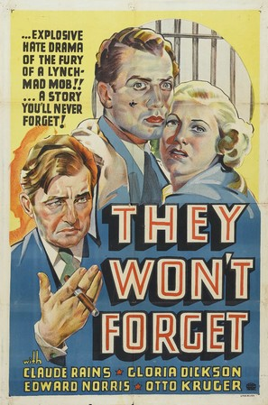 They Won't Forget - Movie Poster (thumbnail)