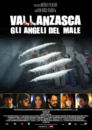 Vallanzasca - Gli angeli del male - Italian Movie Poster (thumbnail)