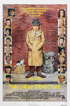 The Cheap Detective - Movie Poster (thumbnail)