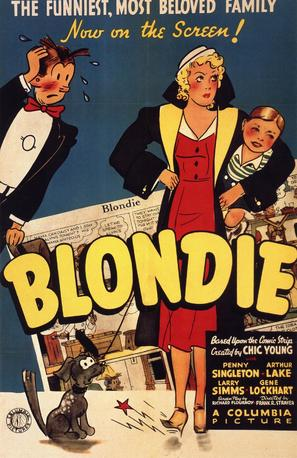 Blondie - Theatrical poster (thumbnail)