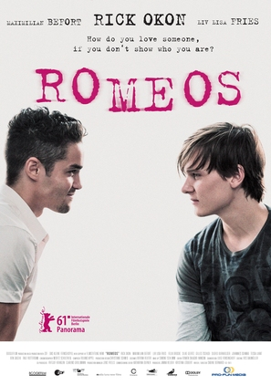 Romeos - German Movie Poster (thumbnail)