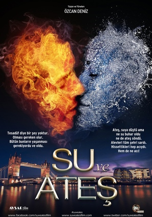 Su ve Ates - Turkish Movie Poster (thumbnail)