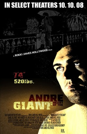 Andre: Heart of the Giant - Movie Poster (thumbnail)