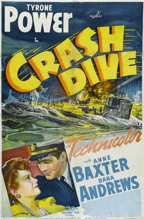 Crash Dive - Movie Poster (thumbnail)
