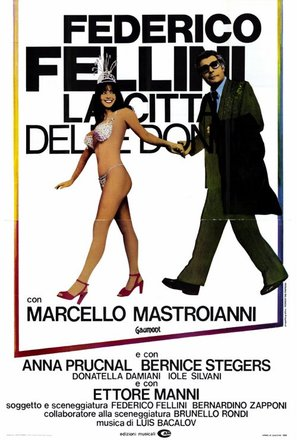 La città delle donne - Italian Movie Poster (thumbnail)