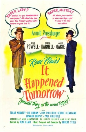 It Happened Tomorrow - Movie Poster (thumbnail)