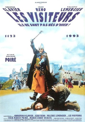 Les visiteurs - French Movie Poster (thumbnail)