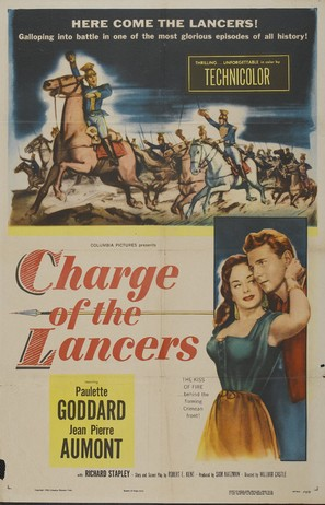 Charge of the Lancers - Movie Poster (thumbnail)