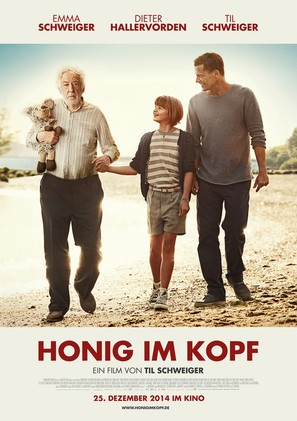 Honig im Kopf - German Movie Poster (thumbnail)
