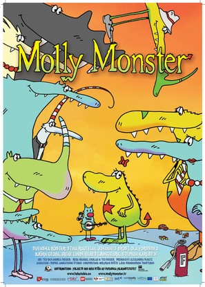 """Die kleine Monsterin"" - Swedish Movie Poster (thumbnail)"