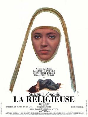La religieuse - French Movie Poster (thumbnail)