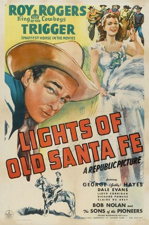 Lights of Old Santa Fe - Movie Poster (thumbnail)