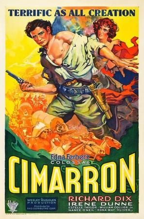 Cimarron - Theatrical poster (thumbnail)