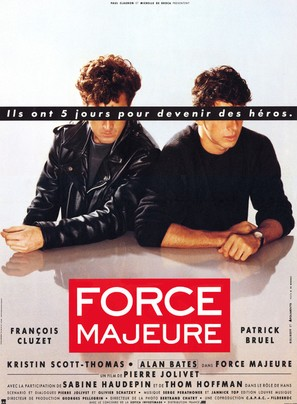 Force majeure - French Movie Poster (thumbnail)