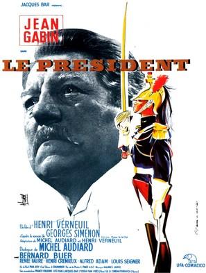 Le président - French Movie Poster (thumbnail)