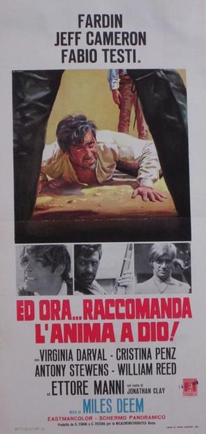 Ed ora... raccomanda l'anima a Dio! - Italian Movie Poster (thumbnail)