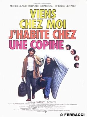 Viens chez moi, j'habite chez une copine - French Movie Poster (thumbnail)