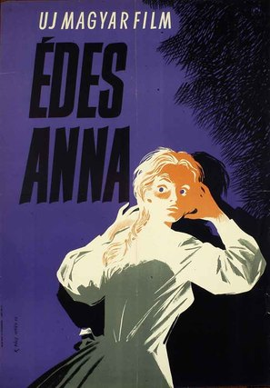 Édes Anna - Hungarian Movie Poster (thumbnail)